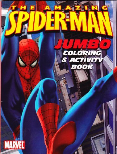 The Amazing Spider-man Jumbo Coloring & Activity Book - 1