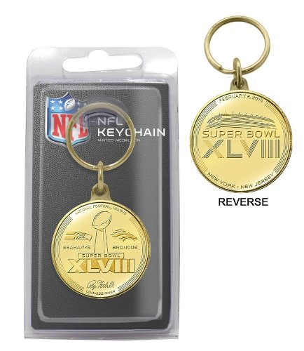 Seattle Seahawks Super Bowl 48 Champions Bronze Coin Keychain at Amazon.com
