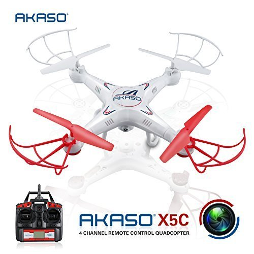 AKASO X5C 4CH 2.4GHz 6-Axis RC Quadcopter with HD Camera