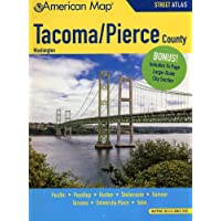 Tacoma Pierce Counties WA Street Atlas