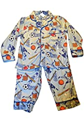 Bunz Kidz Little Boy's MVP Pajama Set