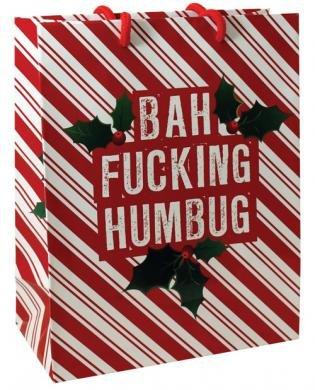 Kalan Bah Fucking Humbug Gift Bag - Large