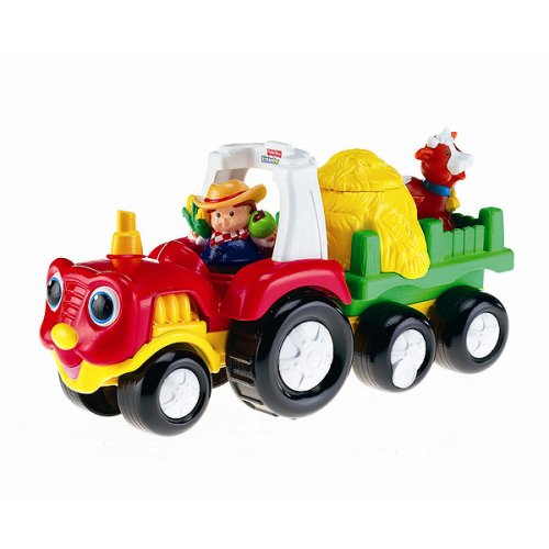 Tow 'N Pull Tractor - Buy Tow 'N Pull Tractor - Purchase Tow 'N Pull Tractor (Toys & Games, Categories, Play Vehicles, Construction & Farm Vehicles)