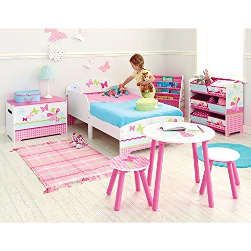 Patchwork rose filles Pretty n Lit pour bébé + matelas en mousse Deluxe