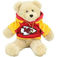 """Kansas City Chiefs 8"""" Fuzzy Hoody Bear by Forever Collectibles"""