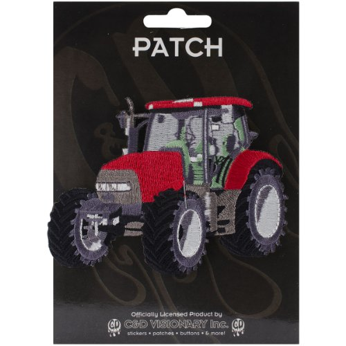 Application Covered Tractor Patch - 1