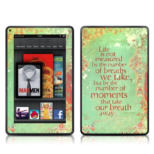 DecalGirl Kindle Fire Skin - Measured