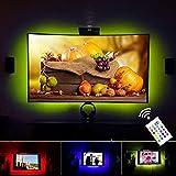 VILSOM USB Powered LED Bias-Beleuchtung für TV-Bildschirm und PC-Monitor