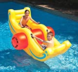 Swimline Sea Saw Rocker Inflatable Kids Lounge Toy for Swimming Pool Pond 9058