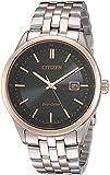 Citizen Men's Sapphire Collection BM7256-50E Wrist Watches, Black Dial