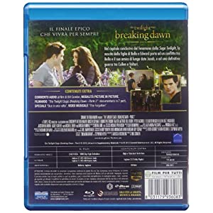 Breaking dawn - The Twilight saga - Part 2(special edition) [(special edition)] [Import italien]