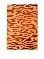 RugSense Alfombra Soft Nepal Naranja/Rojo 240 x 170 cm