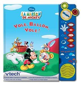 Vtech 62445 jeu educatif magi livre interactif la maison de mickey jeux et jouets - Jeux de cuisine de mickey ...