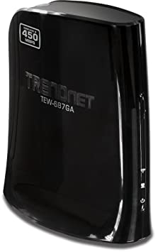 Trendnet TEW-687GA adaptador y tarjeta de red - Accesorio de red (Inalámbrico, Ethernet, WLAN, 450 Mbit/s, IEEE 802.11b, IEEE 802.11g, IEEE 802.11n, 2.412 - 2.472 GHz)