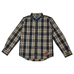 NOQNOQ Ribbed Collar Shirt Boys NN Style 05 BOY