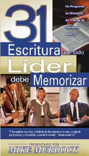 31-escritura-que-todo-lider-debe-memorizar-spanish-edition