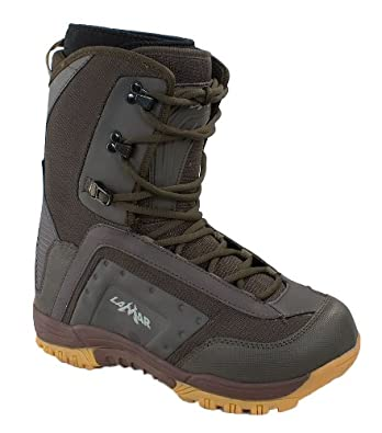 Lamar Demon Men's Snowboard Boots Brown/Gum 9