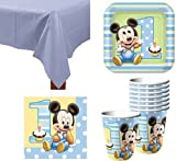 Mickey Mouse 1st Birthday Party Pack - For 16 Guests