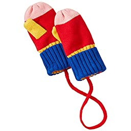 Hanna Andersson Baby Baby All Is Bright Mittens, Size XS (24 Months), Multi