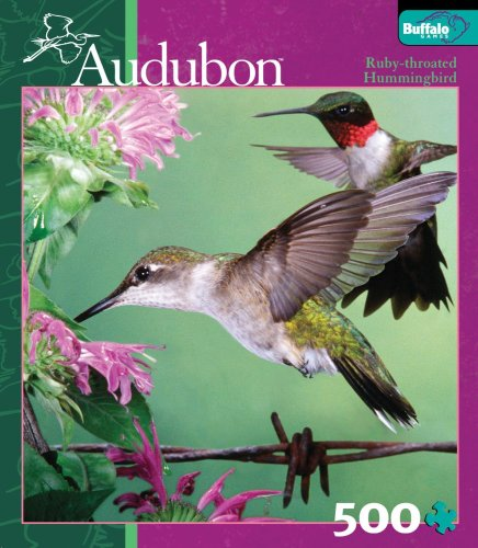 Buffalo Games Audubon: Ruby-throated Hummingbird