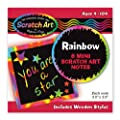 Rainbow Mini Scratch Art Notes from Melissa & Doug