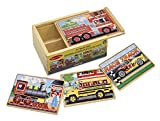 Melissa & Doug Deluxe Vehicles in a Box Jigsaw Puzzles