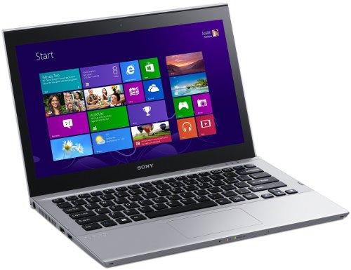 Sony Vaio SVT1312V1E, Processore  Intel Core i5, 1.7 GHz, 13.3 Pollici, HDD 128 GB, RAM 4 GB, Colore Argento