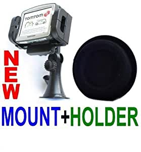 Beanbag Friction Dash Mount + Large Suction Cup Holder for MOST TomTom, Garmin, Nextar, and Magellan GPS Units & Most Large Mobile Phones, PDAS, and Mp3 Players with up to a 7 Inch Screen!