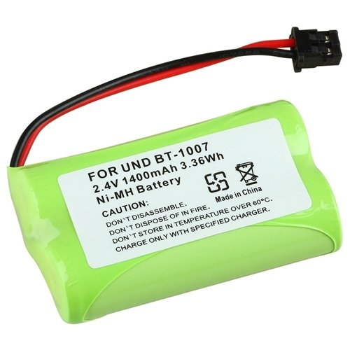 2.4V 1400Mah Rechargeable Battery For Uniden Bt1007 Cordless Home Phone (4 Pack) front-629440