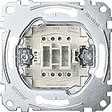 Merten MEG3151-0000 - Interfaz de botón de apertura, 1 pin, 10 A, AC 250 V