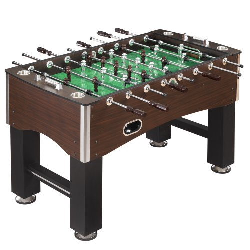 Best Buy! Hathaway Primo Soccer Table, Brown, 56-Inch