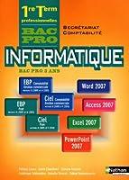 Informatique Bac Pro 1e-Tle Secrétariat-Comptabilité