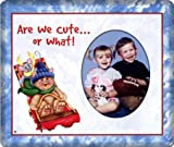 Are We Cute... - Christmas Photo Magnet Frame