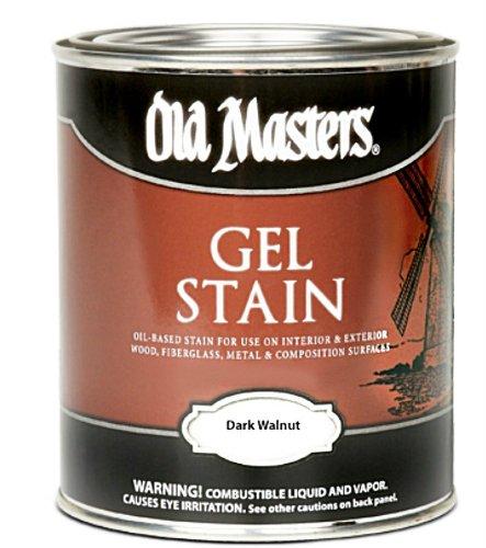 Old Masters #80701 Gel Stain ~ Dark Walnut ~ Gallon (Old Masters Dark Walnut Gel Stain compare prices)