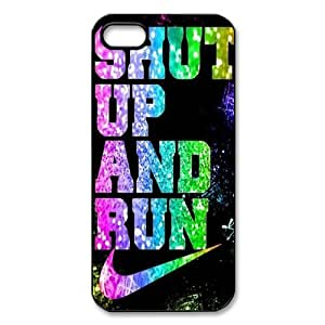 Huyny diy custom phone case shut up and run for Diy custom phone case