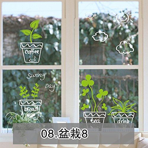 wand-kicks-hyun-ist-fries-geschrieben-von-topfpflanzen-wohnzimmer-schlafzimmer-fenster-dekoration-gl