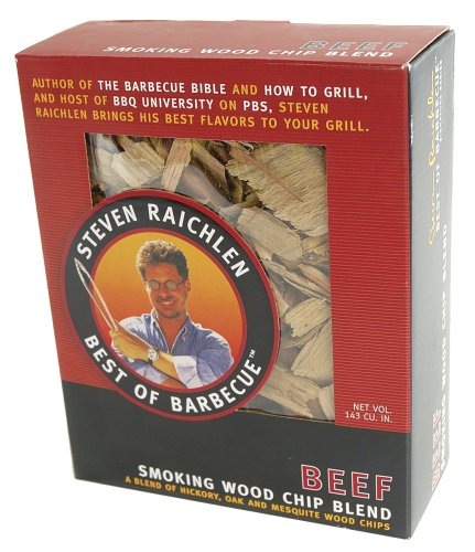 Best Wood Chips Smoking Brisket : Steven raichlen best of barbecue sr smoking wood chips for beef