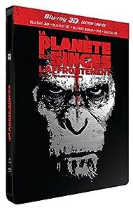La Planète des Singes : L'Affrontement [Combo Blu-ray 3D + Blu-ray + DVD - Édition Limitée Pack Métal]