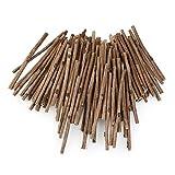 NUOLUX 100pcs Holzblock Sticks für DIY Handwerk 10CM langen 0