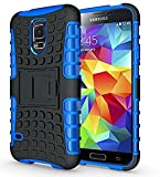 Nnopbeclik Samsung Galaxy S5 / S5 Neo Hülle, Dual Layer