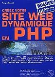 echange, troc Tanguy Pruvot - Créez votre site Web dynamique en PHP (1Cédérom)