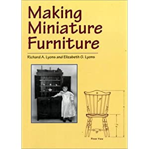 miniature furniture plans