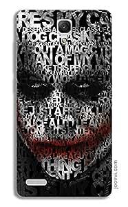 Joker Typography Case for Redmi Note 4G