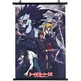 Death Note Black Anime Fabric Wall Scroll Poster 16''x24'' Inches