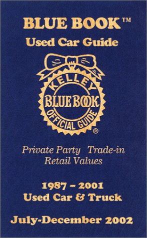 Kelley blue book used car guide private party trade in for Motor vehicle trade in values