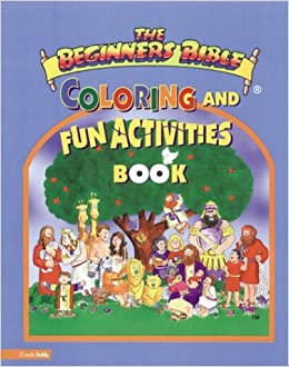beginners bible coloring pages - beginner 39 s bible r with coloring and fun activities book