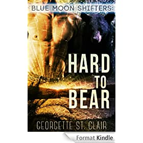 Blue Moon Shifters: Hard To Bear (A BBW paranormal romance) (English Edition)