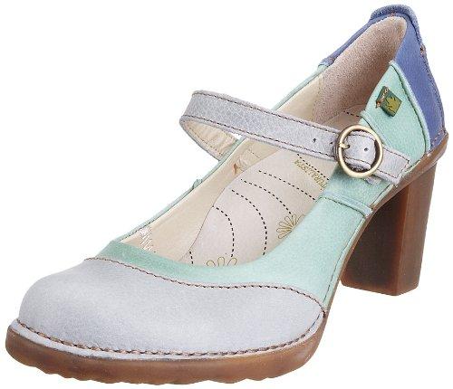 El Naturalista Women's N521 Platform Heel Arona-Acebo-Vaquero 6 UK