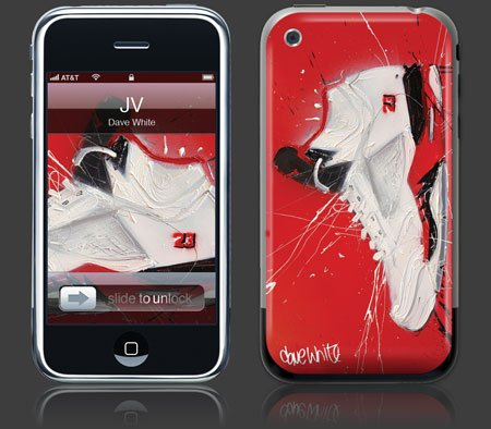Apple iPhone Premium Vinyl Skin - JV (GelaSkins Brand) Made in Canada