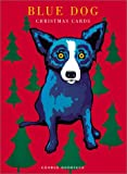 Wrap Me Up for Christmas: Blue Dog Christmas Cards (15 Cards) (1584791446) by Rodrigue, George